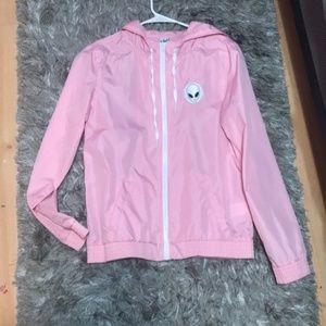 Jackets & Blazers - Pink Alien Jacket